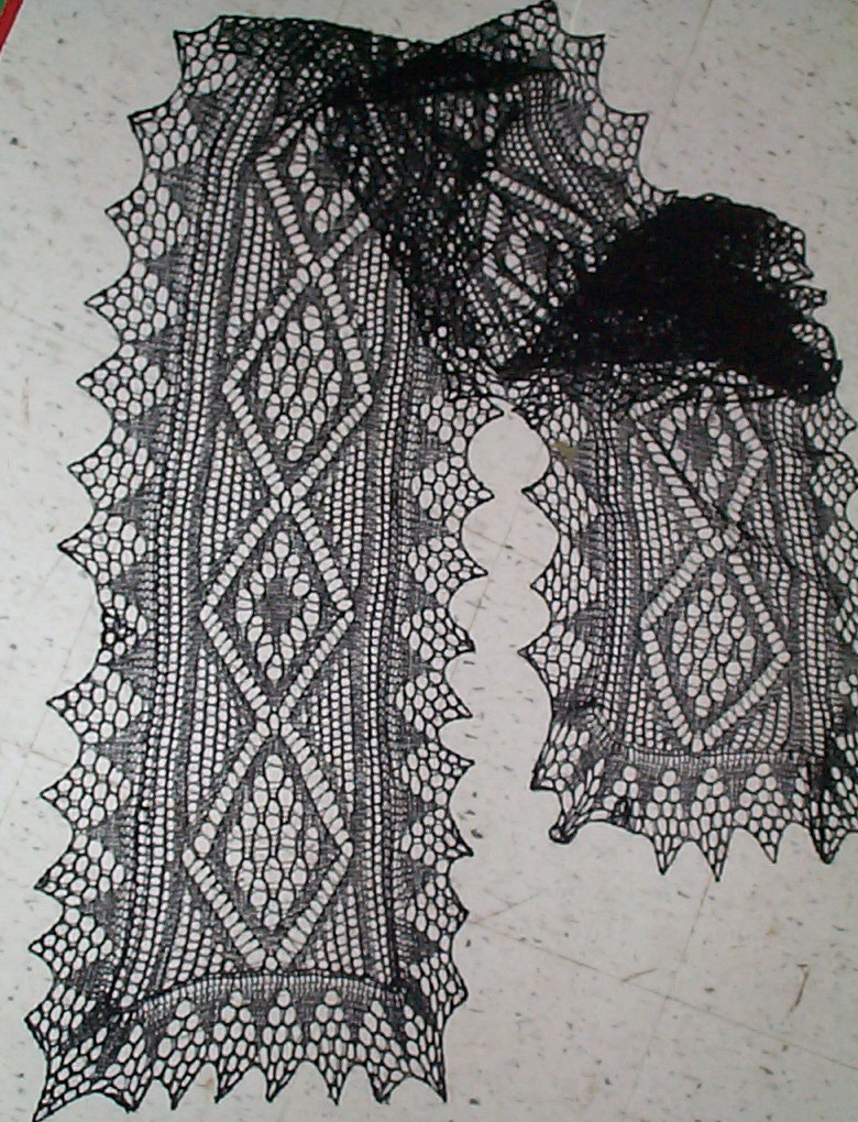 Black Lace Doodle | String-Or-Nothing