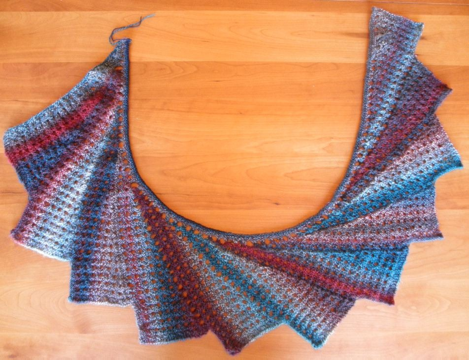 Knitted Pattern For Wingspan Scarf : Wingspan Scarf String-Or-Nothing