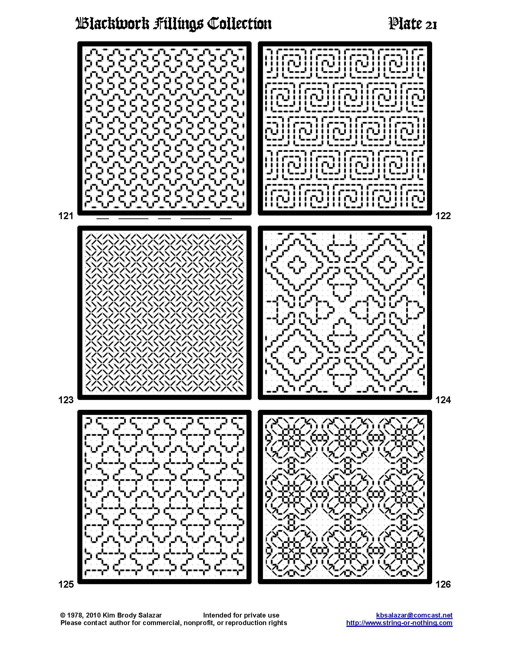Blackwork Patterns Magnificent Inspiration Ideas