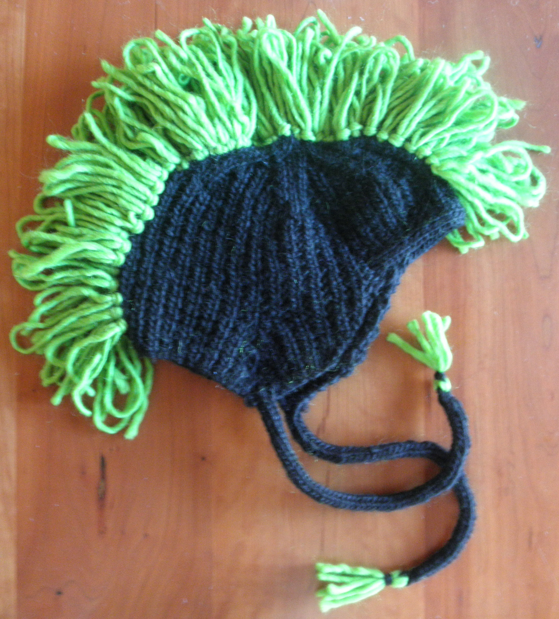 Knitting Pattern For Mohawk Hat : March 2012 String-Or-Nothing